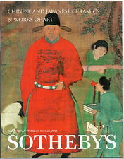 SOTHEBY'S CHINESE AND JAPANESE CERAMICS & WORKS OF ART / AMSTERDAM 22 MAY 2001