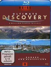 Ultimate Discovery - Kanada & Neuseeland ( Reise / Tours BLU-RAY ) NEU OVP