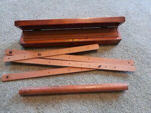Vintage surveying tools Rulers Measuring Equipment