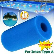 For Intex Type A Reusable Swimming Pool Filter Washable Foam Sponge Cartridge