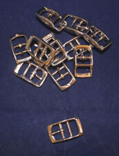 "Buckle - 1/2"" - Nickel Plated - Double Bar - Set of 12 (F216)"