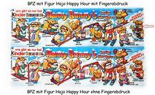 Skihasen 1996 - BPZ Variante Fehldruck mit Fingerabdruck & Serien-BPZ