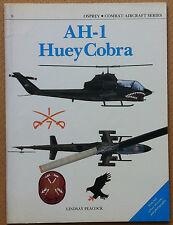 Peacock - AH-1 Huey Cobra - Osprey Combat Aircraft Series n°8 1987  Aviazione