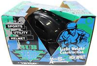 New VTG 80s VARIFLEX SubZero SKATEBOARD HELMET Black Skate Rollerblade Deadstock