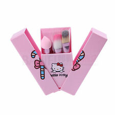 2016 NEW makeup hello kitty 8 pcs brushes set Cosmetic Foundation blending