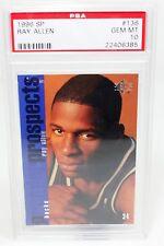 1996-97 Ray Allen SP #136 Bucks RC Rookie PSA 10