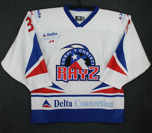 Corpus Christi Rayz CHL Team Game Issued Jersey Authentic OT Sports 58