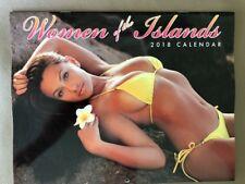 Beautiful Women Of The Islands Of Hawaii 12 Month 2018 Calendar  FREE SHIP