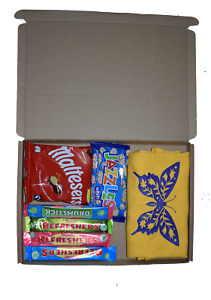 Kids Butterfly t-shirt and sweets gift letter box gift quick prezzy