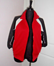 Charles River Apparel,Black/Red/White JACKET Men's,SMALL,Polyester, FRONT ZIPPER