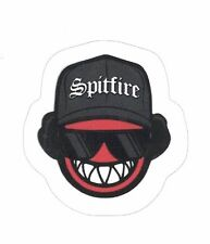 "SPITFIRE EAZY-E LOGO STICKER ~ Skateboard Skate Wheels Black & Red 2"" vinyl  NEW"