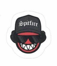 "SPITFIRE EAZY-E LOGO STICKER ~ Skateboard Skate Wheels Black & Red 2"" vinyl  NEW"