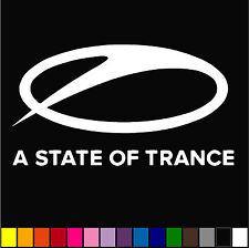 A State of Trance Decal Music JDM Car Helmet Laptop Ipad Diecut Sticker