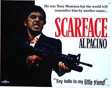 * Scarface Al Pacino Gangster Kult Film Schild 809 *