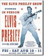 ELVIS PRESLEY Metal Poster Elvis Tin Sign Vintage Metal Sign Retro Tin Sign 1197
