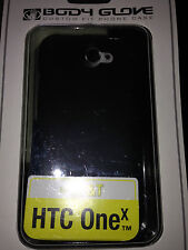Body Glove Cell Phone Smooth Case for AT&T HTC One x- Black