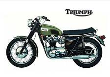 TRIUMPH Poster TR6 TR6R Tiger 650 1960's 1969 1970 Suitable to Frame