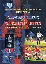 1994 FA CUP SEMI-FINAL - MAN UTD V OLDHAM ATHLETIC