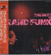 "GRAND FUNK RAILROAD ""BEST OF"" ORIG JAPAN W/OBI 1971"