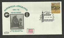 AUSTRALIA v ENGLAND ASHES 1994/95 SERIES 3rd TEST MATCH SYDNEY GPO COVER