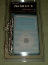 Blue Silicon PROTECTIVE case for original Ipod Video only , new