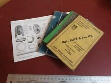 LOT OF 4 BOOKS Stanley tool catalog #34 FOWLERS MACHINERY timber WOOD WORKING