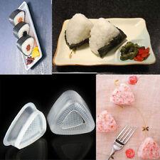2PC/Set Triangle Onigiri Rice Ball Press Mold DIY Bento Sushi Maker Kitchen Tool