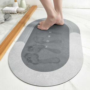 Super Absorbent Floor Carpet Mat Soft Slip-resistant Bathroom Rug Floor Door~