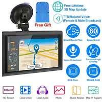 5/7/9 Inch Touch Screen 8GB Car GPS Navigation Sat Nav Navigator  Lifetime+Maps