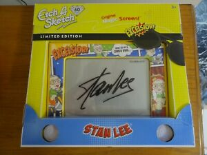 Etch A Sketch Classic STAN LEE 60th Anniversary Limited Edition Magic Screen