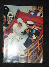 Comemorative Charles & Diana Book/Mag 1981 - Collectable Item