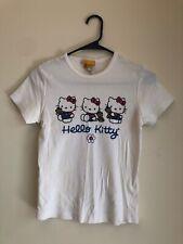 Vtg 90s Sanrio Smiles Hello Kitty Baby Tee Tshirt Sz Small Y2K Bratz Japanese
