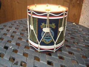 Vintage Ice Bucket Queen's Regiment Drum Circa 1970's?