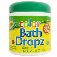 Play Visions Crayola Bath Dropz, 3.59 oz, 60 Tablets