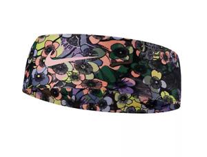 Nike Dry Headband Fury Black Ashen Slate Pink Headband SweatBand DRI-FIT - New!