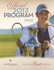 Rancho Mirage CA  2012 LPGA  Kraft Nabisco Golf Program Palm Springs