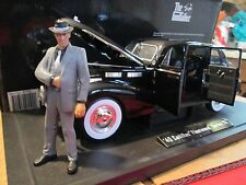JADA THE GODFATHER 1940 CADILLAC FLEETWOOD SERIES 75 1:18 w/figure damaged