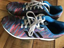 Adidas Torsion  ZX Flux Pink/Blue Size 11.5 Men's 675001 Paint Strokes