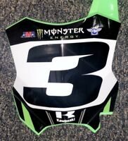 Eli Tomac Replica Supercross Front number Plate #3 Unsigned