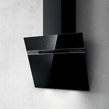 Elica Ascent Wall Mounted Hood 90cm Black Glass PRF0101143