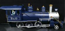 Bachmann BIG HAULERS 4-6-0 STEAM LOCOMOTIVE 1332. G-Scale Royal Blue VINTAGE NOS
