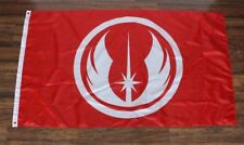 Star Wars Return Last Jedi Order Flag Banner Yoda Knights Logo USA Shipper New