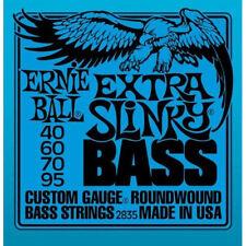 Ernie Ball 2835 Extra Slinky Roundwound Bass Guitar Strings 40 - 95
