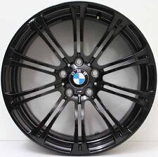 19 INCH GENUINE BMW M3 E92 L WIDEPACK ALLOY WHEELS IN CUSTOM GLOSS BLACK