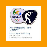 RIO 2016 OLYMPIC PARALYMPIC GAMES OFFICIAL PIN PICTOGRAM BADGE SPORTS CHOOSE ONE