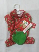 Simply Wag Dog Puppy Mom Pet Gift Christmas Holiday Red Green Snowflake Shirt S