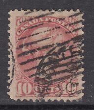"Canada Scott #45a  10 cent dull rose ""Small Queen""   F"