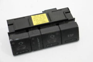 Audi A6 C5 Allroad Suspension Adjustment Switch Panel Worn 4Z7927139A