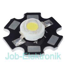 3W HIGH - Power LED ++ neutralweiß ++ mit Starplatine Hochleistungsled