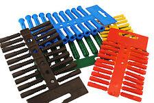 Linic 5, 6,8,10 & 12mm Assorted Masonary Plastic Wall Plugs UK Made Fixing S7191